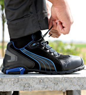 Chaussures de sécurité S3 SRC Puma Rio noiresbleues