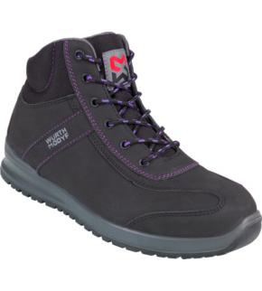 check-out a840b 8eeb2 Chaussures de sécurité montantes femmes Carina S3 Würth MODYF  noires/violettes