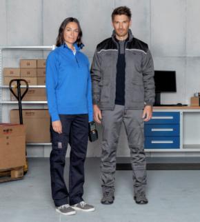 5e2de853d3b6 Pantalón de Trabajo Mujer Classic Azul Marino