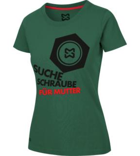 erster Blick Preis heißer verkauf billig Arbeits T-Shirt Damen grün