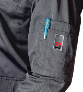 W/ÜRTH MODYF Pantalon de Travail 100/% Coton Classic Noir