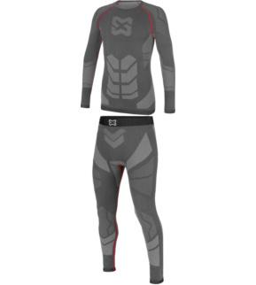 new concept 27dd4 cf5c4 Thermo Unterwäsche Set Pro grau rot