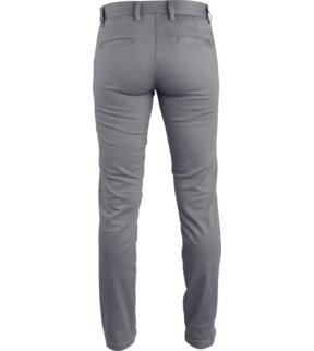 Pantalon De Trabajo De Mujer Chino Gris