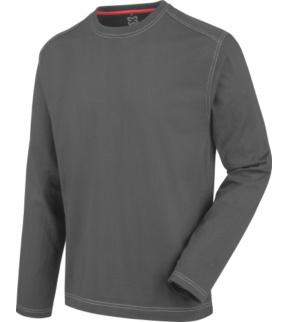 free shipping 2c611 31959 T-shirt manica lunga Heavy Cotton grigia