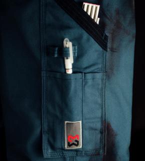 W/ÜRTH MODYF Pantalon de Travail Performance Noir//Gris