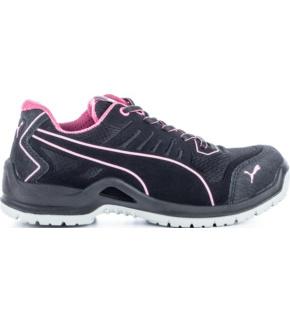 Puma Chaussures de sécurité basses femme Fuse Pink ESD S1P