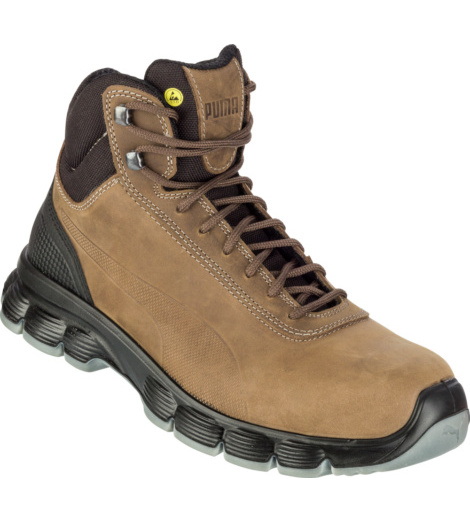 Photo de Bottines de sécurité S3 ESD SRC Condor Mid Puma bunes