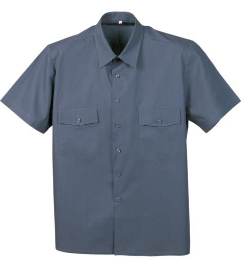 Foto de Camisa de Trabajo Worker Gris
