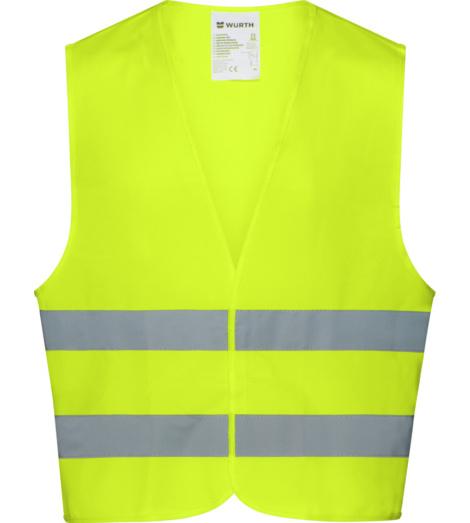Photo de Gilet de travail haute-visibilité Classe 2 Würth MODYF jaune