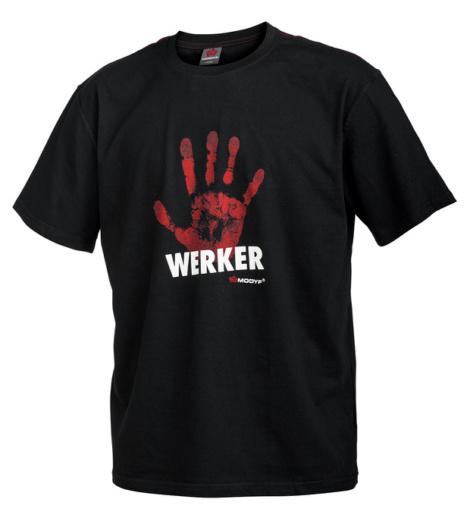 Foto von Arbeits T-Shirt Handwerker schwarz