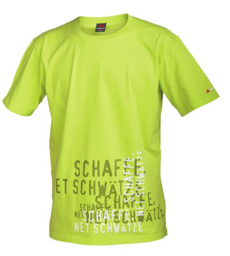 Foto von Arbeits T-Shirt Schaffe lemon