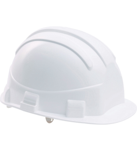 Photo de Casque de chantier blanc