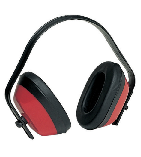 Photo de Casque antibruit Basic Max 200 rouge