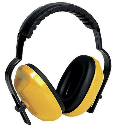 Photo de Casque antibruit Plus Max 400 jaune