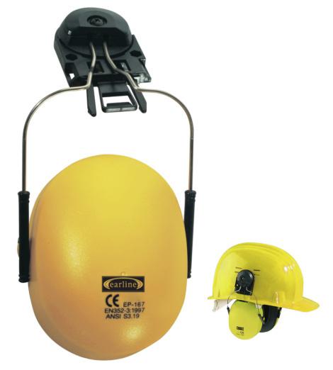 Photo de 2 coques antibruit avec adaptateur pour casque