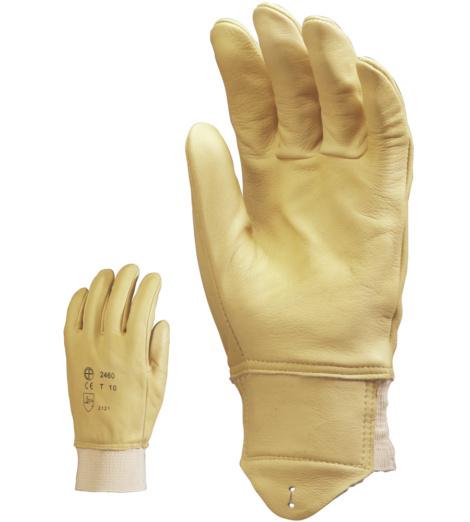 Photo de 10 paires de gants de maitrise cuir pleine fleur oléo-hydrofuges