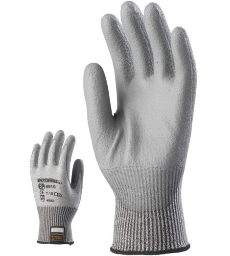 Photo de 10 paires de gants anti-coupure Taeki 5 enduits PU
