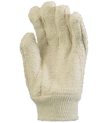 Photo de 5 paires de gants de protection anti-chaleur coton