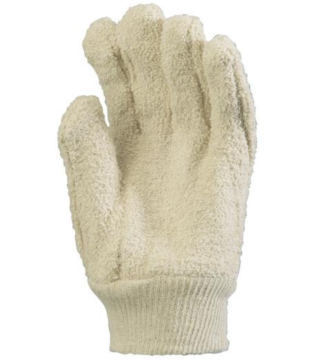 Photo de 5 paires de gants de protection anti-chaleur coton