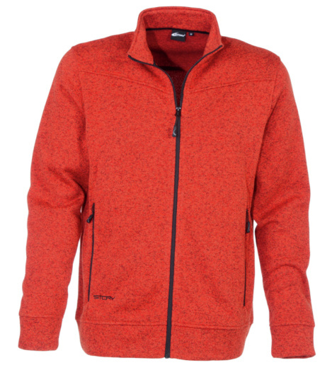 Foto von Modyf® Knitted Strickjacke orange