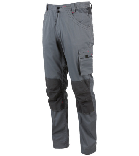 Photo de Pantalon de travail thermic Stretchfit Würth MODYF gris