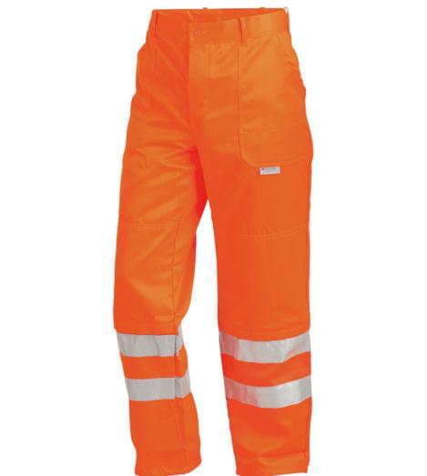 Warnschutzhose orange für Straßenbau