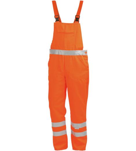 Arbeitslatzhose orange für Staplerfahrer