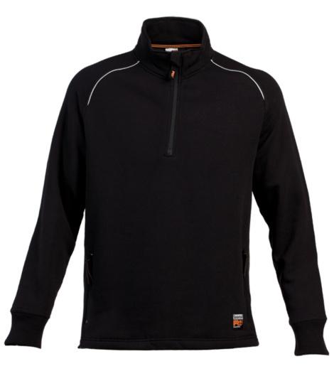 Foto van Zipp-sweater Timberland Pro 327 Zipp-sweater Zwart