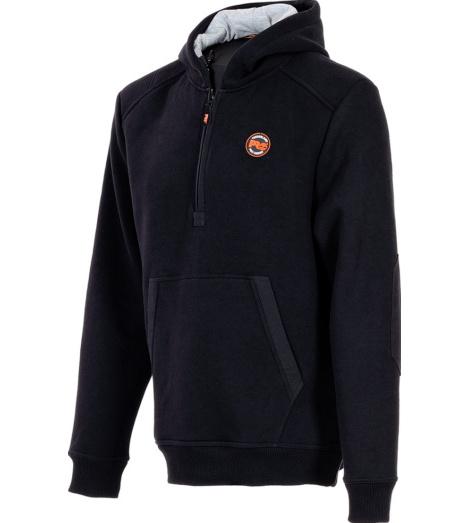 Foto van Zipp-sweater met Capuchon Timberland Pro 351 Zwart