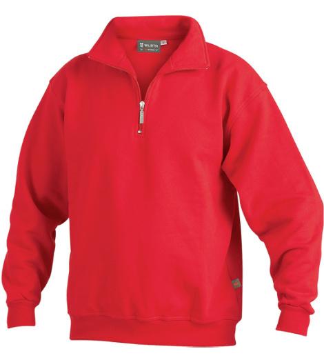 Foto von Sweatshirt® Zip Rot