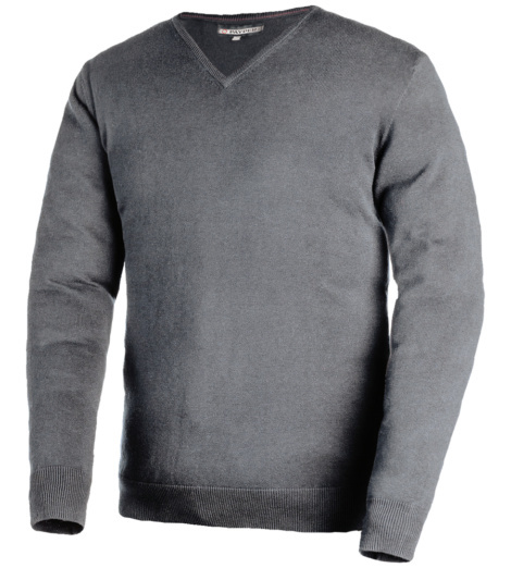 Sweatshirt Business grau für Herren