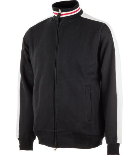 schwarzes winterliches Sweatshirt für die Arbeit