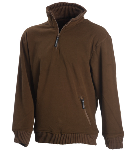 Photo de Pull polaire de travail Explorer marron
