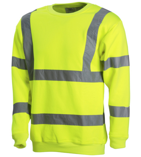 Photo de Sweat haute visibilité Flash jaune fluo