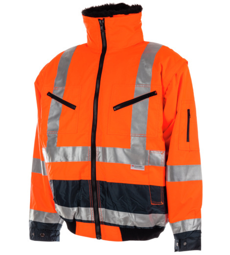 Warnschutzjacke  EN 471/EN 343 für Stapelfahrer