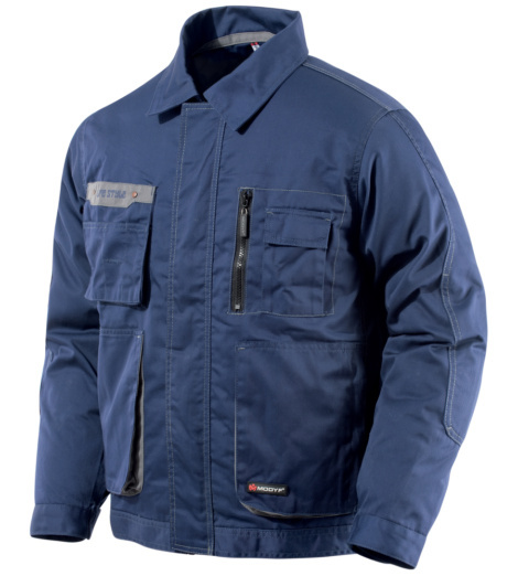 Arbeitsjacke Life Style blau