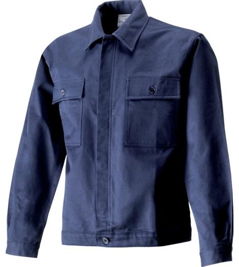 Arbeitsjacke Moleskin blau