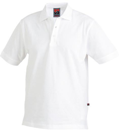 Poloshirt weiß für Maler