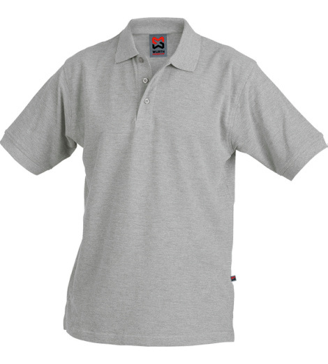 Poloshirt grau für Fliesenleger