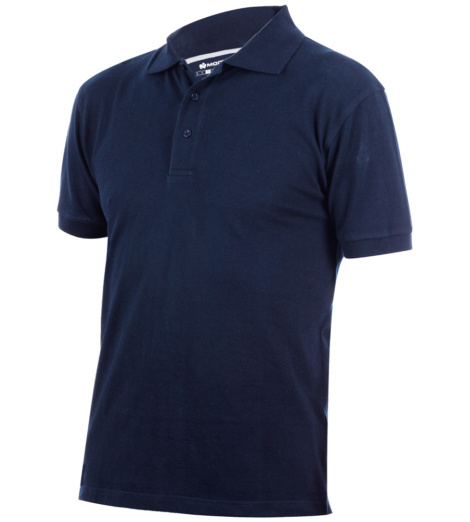 dunkelblaues Polo