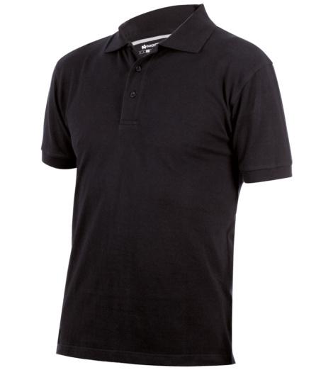 schwarzes Polo