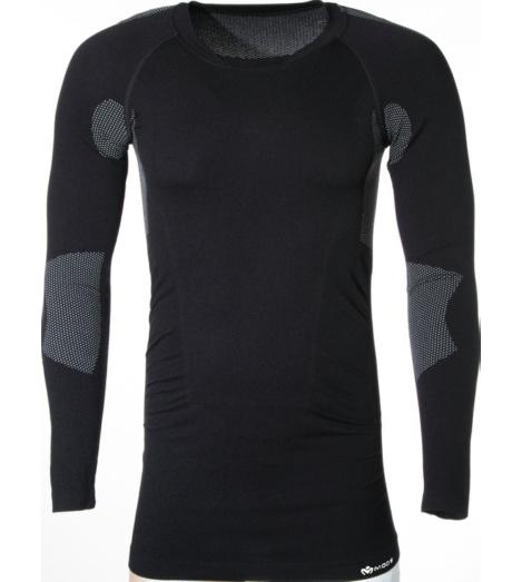 Warmes Longshirt schwarz