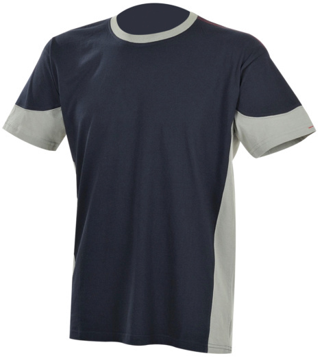 Photo de Tee-shirt de travail Fit marine/gris