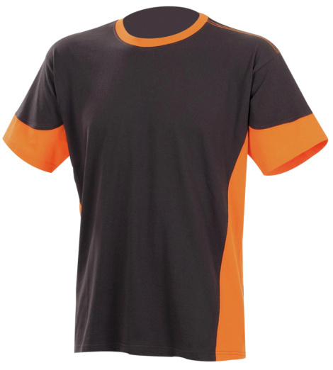 Photo de Tee-shirt de travail Fit anthracite/orange