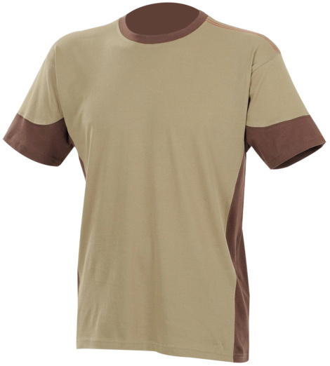 Photo de Tee-shirt de travail Fit beige/marron