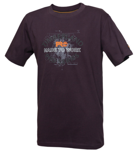 Photo de Tee shirt Timberland Pro 346 grape