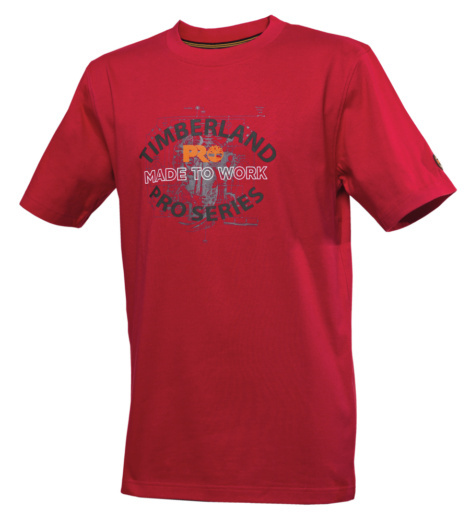 Photo de Tee shirt Timberland Pro 346 ruby red