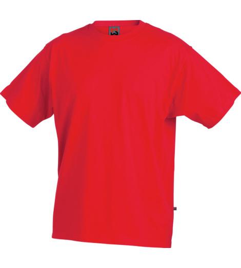 Arbeitsshirt rot für Elektriker