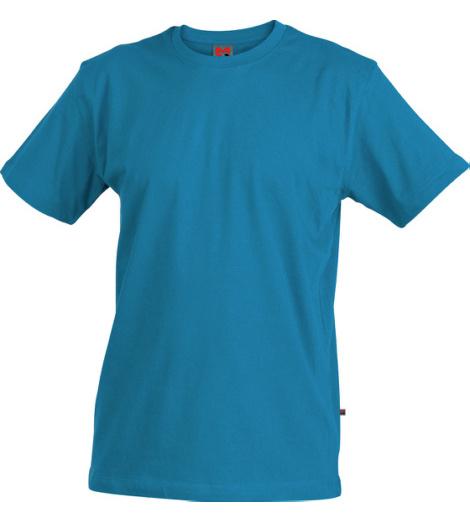 Arbeits T-shirt blau für Metallbau
