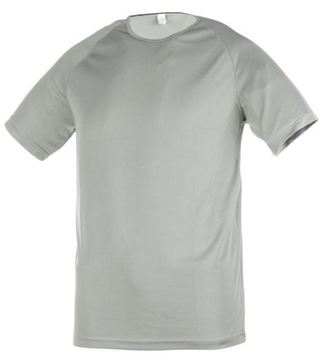T-shirt grigia tecnica